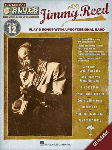 Jimmy Reed Blues Play-Along Volume 12 BK/CD (Hal Leonard Blues Play-Along)