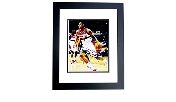 52c581fdd Bradley Beal Signed - Autographed Washington Wizards 8x10 inch Photo BLACK  CUSTOM FRAME - Guaranteed to pass PSA DNA or JSA at Amazon s Sports  Collectibles ...