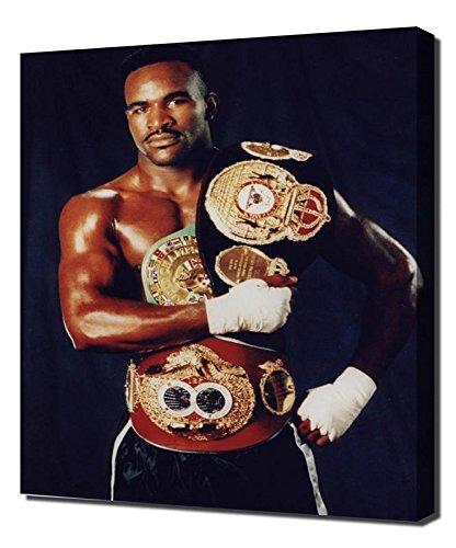 (Boxing Evander Holyfield 2 - Canvas Art Print - Wall Art - Canvas Wrap)