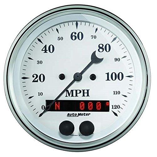 Auto Meter 1649 Old Tyme White 3-3/8