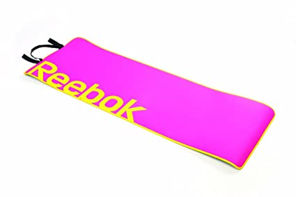 Amazon.com: Reebok – Esterilla de fitness, color rosa ...