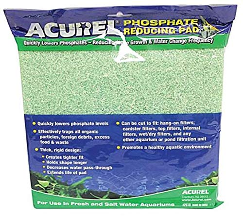 Acurel LLC Phosphate Reducing Media Pad, 10-Inch by - Phosphate Pad