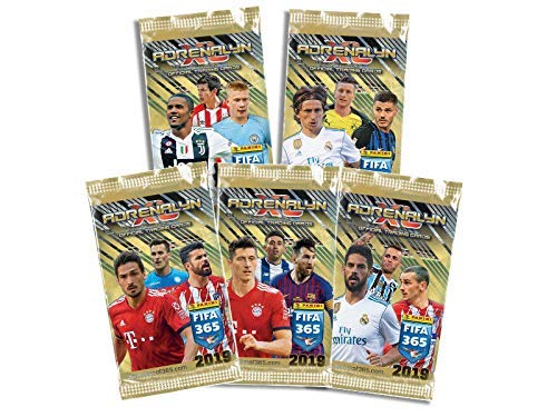 2019 Panini Adrenalyn XL TOP TEAMS FIFA 365 Soccer Cards. TEN (10) 6-Card Packs (60 Cards Total). Loaded With Stars! Look for Stars Like Messi, Ronaldo, Kane, Neymar, Pulisic +++