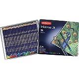Derwent Colored Pencils, Drawing, Watercolor, Art, Inktense Ink Pencils, 24-Pack (0700929)