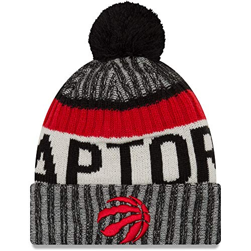 NBA Toronto Raptors Ne16 Tech Knit Beanie, Black, One Size