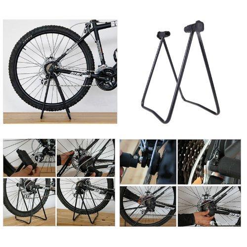 Yosoo U-förmig Fahrrad Montageständer Fahrrad-Standplatz Leicht Hängende Reparatur Regal GOTOTOP