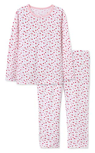 Little Girls Pajama 2 Piece Set Cotton Cherry Sleepwear for Children 2-7 T Sleepsuits ()