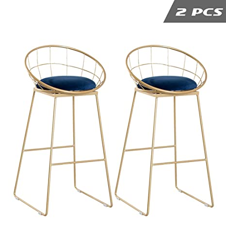 Amazing Amazon Com Bar Stool Set Of 2 Counter Height Chair Flannel Creativecarmelina Interior Chair Design Creativecarmelinacom