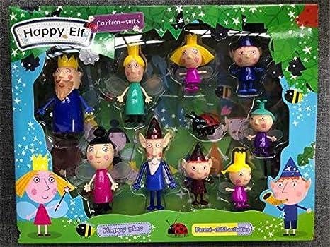 Amazon.com: Set de 10 figuras de juguete con caja de 1.6 ...