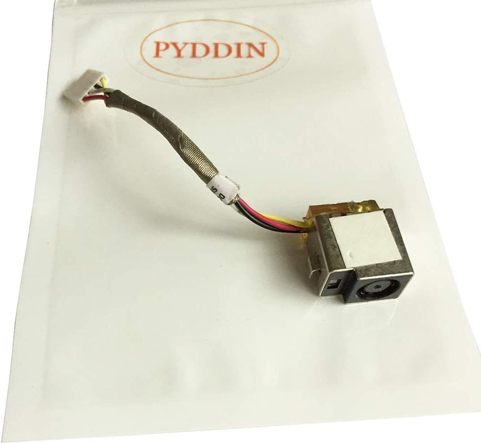 PYDDIN New Laptop DC Power Jack in Cable Charging Port for HP Compaq Presario CQ35 CQ36, HP Pavilion DV3-2000 DV3-1000, DV3-1075US DV3-2150US DV3-2155MX DV3-2157CL DV3T-2000 DV3Z-1000
