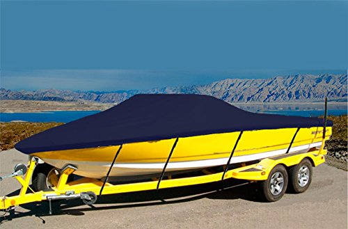 7oz Solution Dyed Polyester Material Custom Exact FIT Boat Cover Correct Craft SKI NAUTIQUE Closed Bow I/O W/SWPF 1990-1993