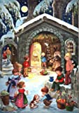 Pinnacle Peak Trading Company Nativity with Children German Christmas Advent Calendar