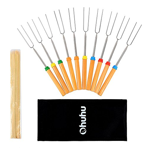 Ohuhu Marshmallow Roasting Sticks Skewers