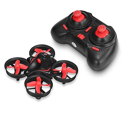 Rtf Mini Rc Helicopter - Redpawz R010 Mini Drone 2.4G 4CH 6Axis Gyro Headless Mode RC Quadcopter RTF - Red