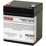 Leoch DJW12-5.4 T2, DJW 12-5.4 T2 12V 4.5Ah UPS Battery Replacement