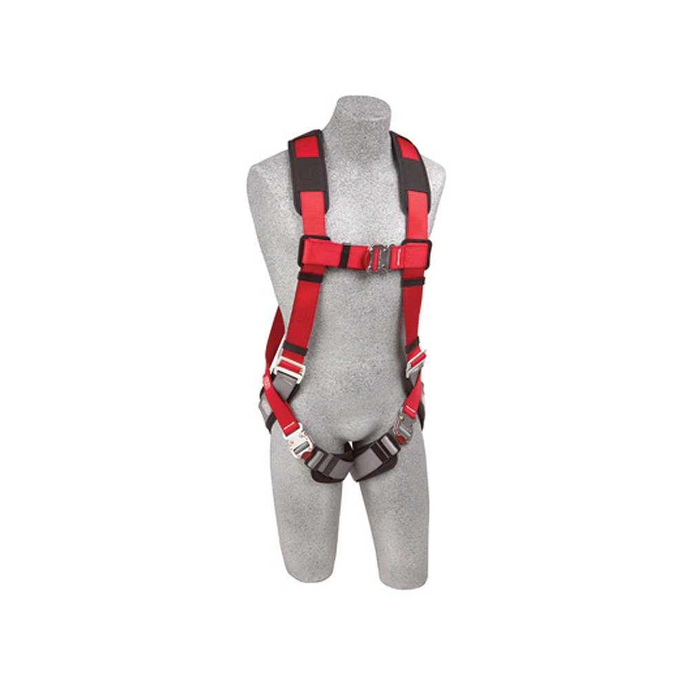 DBI/Sala 1102090 Delta Vest Style Full Body Harness, Universal Size, Navy/Yellow by DBI-Sala B0068ZT8PE