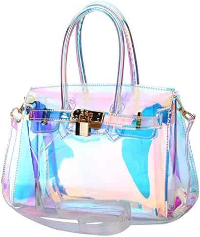 6b8c4f71c242 Shopping Clear - Nylon or Faux Leather - Handbags & Wallets - Women ...