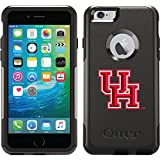 Coveroo Commuter Series Cell Phone Case for iPhone 6 Plus - Retail Packaging - Houston UH Beveled Design