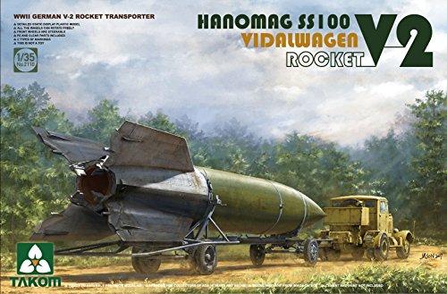 TAK02110 1:35 Takom WW2 German V-2 Rocket Transporter for sale  Delivered anywhere in USA