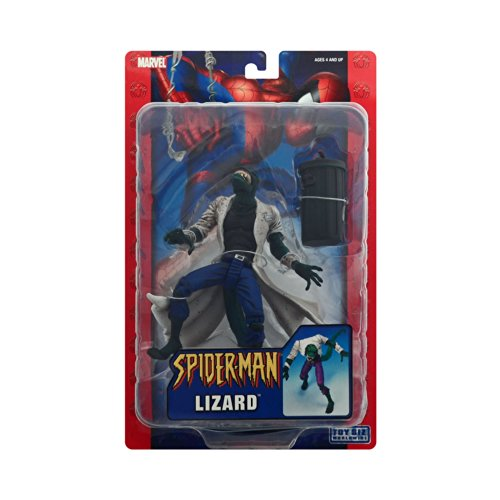 Spider-Man Classics Series 12 Lizard Action Figure with Whit