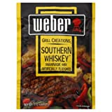 Weber Grill Marinade Southern Whiskey, 1.12-Ounce (Pack of 12)