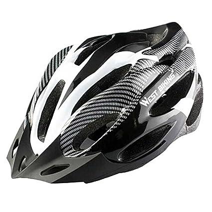 West Bike Multi-Sport material PC + EPS cascos de ciclo del ...