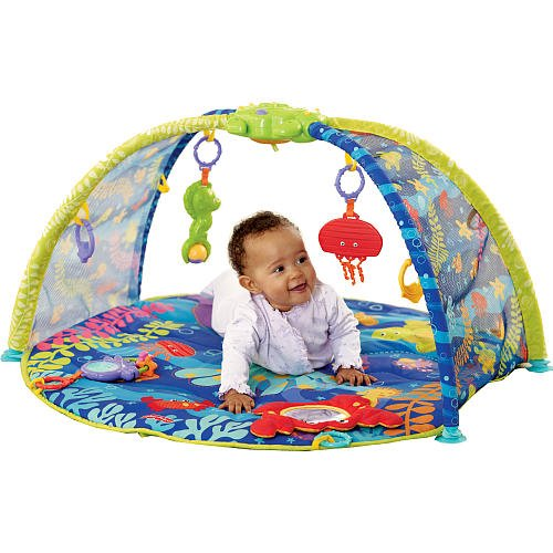 Fisher-Price Ocean Wonders Deep Blue Sea Gym, Baby & Kids Zone