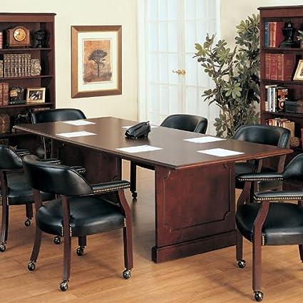 6 ft - 12 ft sala de reuniones conferencia mesa y sillas Conjunto ...
