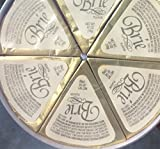 4.2oz Brie Wheel Cheese Wedges by Dairy Food, One Unit by Dairy Food
