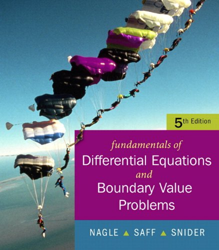 Fundamentals of Differential Equations with Boundary Value Problems with IDE CD (Saleable Package) (5th Edition)