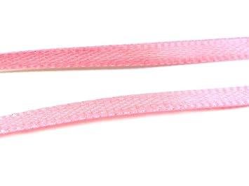 Cinta de satén en rosa 3 mm 10 M de vintageparts DIY-joyas