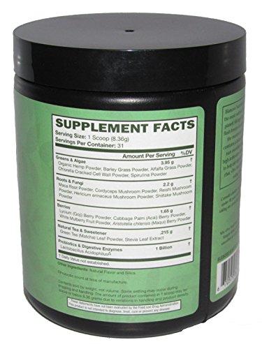 Bianovo Nutrition vPro Superfood, Best Tasting Premium Greens Powder, Vanilla Chai Matcha Green Tea Flavor, 31 serving size bottle (1)