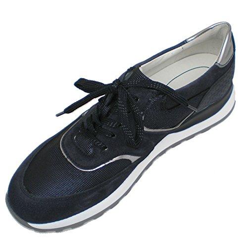 Blau Hiroko Waldläufer 763 Sneaker 364018 Damen 401 vFqg4