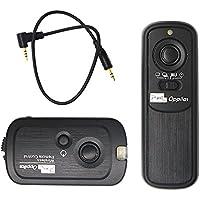 PIXEL RW-221/E3 Wireless Shutter Remote Control Release for Canon EOS 1300D/1100D/1000D/750D/700D/650D/600D/300D/60D/Powershot G10/G11/G12/G1X/SX50/700D