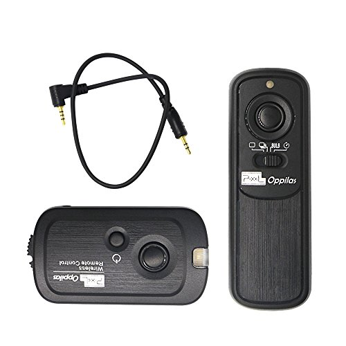 Pixel Pro Digital & Film Camera 100M Wireless Shutter Remote Control Release for Canon EOS 60D 1000D 550d 500D 450D 400D 350D 300D Powershot Pentax Samsung Contax , replaces Canon RS-60E3 (Canon 60d Remote Shutter compare prices)