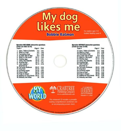 Download My Dog Likes Me (My World) pdf epub