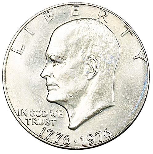 1976 P Type 1 BU Bicentennial Eisenhower Dollar Choice Uncirculated US Mint