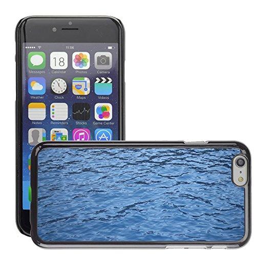 """Just Phone Cases Hard plastica indietro Case Custodie Cover pelle protettiva Per // M00421738 L'eau de mer Blue Sea Liquid Nature // Apple iPhone 6 6S 6G PLUS 5.5"""""""