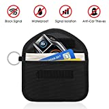 Amteker Car Key Signal Blocker Case - RFID Blocking, for Car Fob Security, Anti theft Lock Devices, Keyless Entry Remote Control