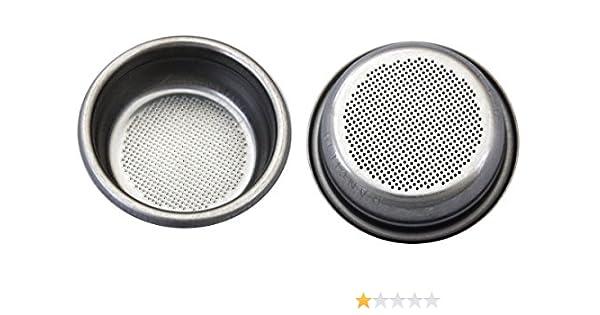 Colador/filtro 2 tazas para Rancilio Cafetera expreso: Amazon.es ...