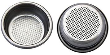 Colador/filtro 2 tazas para Rancilio Cafetera expreso