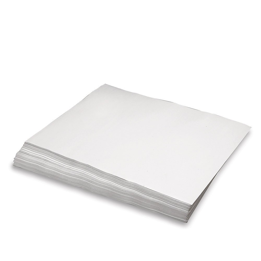 RetailSource NP1830 Newsprint Sheets, 50 lb, 18'' x 24'', White