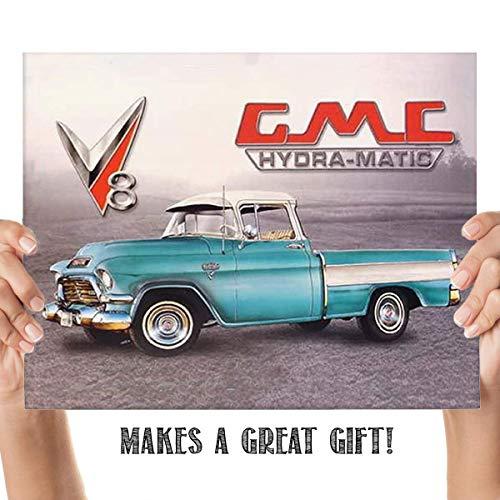 GMC Hydramatic Truck Sign Print- 8 x10