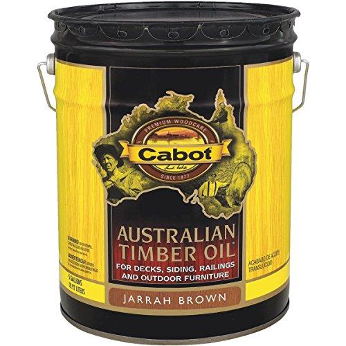 Ext Oil Stain (Jarrah Brn T-Oil Finish)