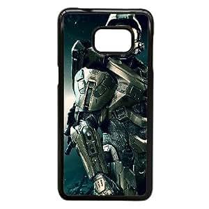 Halo 4 J4O61U6ZG funda Samsung Galaxy Note caso funda Edge 5 587CEJ negro