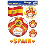 Kitchen & Housewares : Beistle Peel 'N Place Stickers, 12-Inch by 17-Inch, Spain