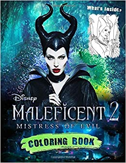 Amazon Com Maleficent 2 Coloring Book Maleficent 2019