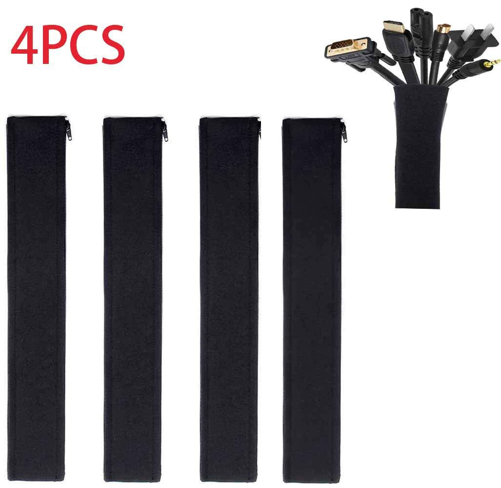 Twocc-Neopreno Zip Cable Manga Cable Protector Tubo Pc Tv Arreglo ...