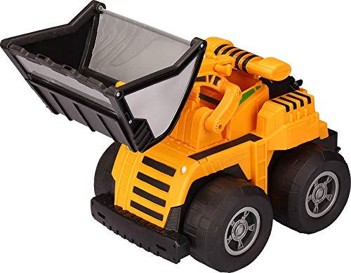 키드 갤럭시 프런트 엔드 로더 트럭(스퀴즈 핸들 포함) 16.5X8.5X8(20245)