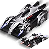 zero gravity remote control car - Remote Control Car, Kids Toys Gifts for Girl and Boy, Gravity Defying RC Wall Climbing Car, Rolytoy 360° Rotating Stunt LED Lights Mini Racer Cars Vehicle